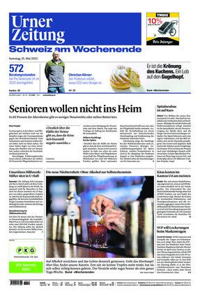 Urner Zeitung (15.05.2021)