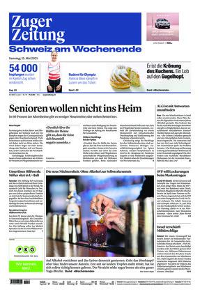 Zuger Zeitung (15.05.2021)