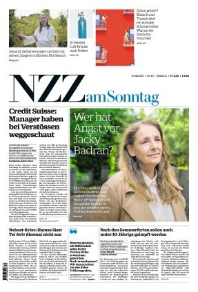 NZZ am Sonntag (16.05.2021)