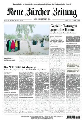 Neue Zürcher Zeitung (18.05.2021)