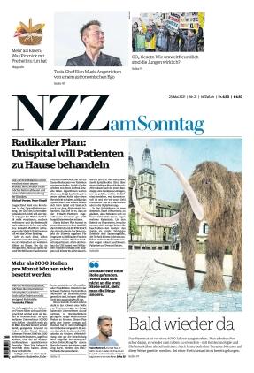 NZZ am Sonntag (23.05.2021)