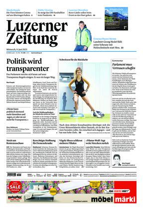 Luzerner Zeitung (09.06.2021)