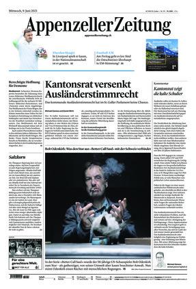 Appenzeller Zeitung (09.06.2021)