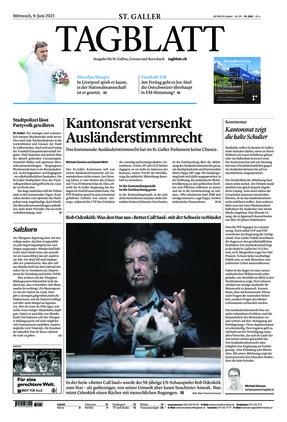 St. Galler Tagblatt (09.06.2021)