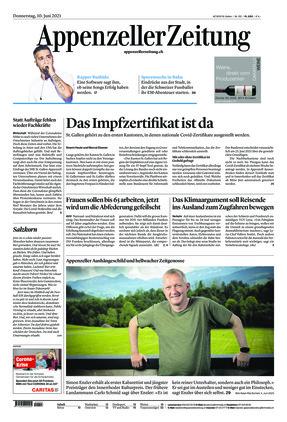 Appenzeller Zeitung (10.06.2021)