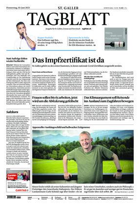 St. Galler Tagblatt (10.06.2021)