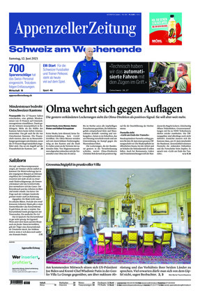 Appenzeller Zeitung (12.06.2021)