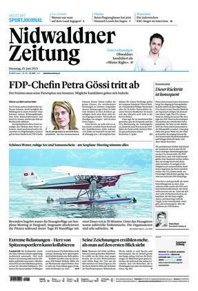 Nidwaldner Zeitung (15.06.2021)