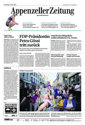 Appenzeller Zeitung (15.06.2021)