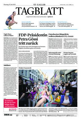 St. Galler Tagblatt (15.06.2021)