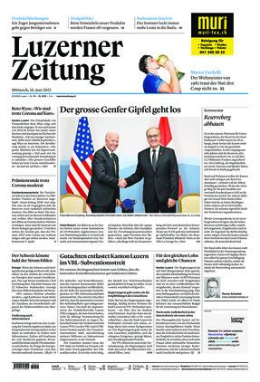 Luzerner Zeitung (16.06.2021)