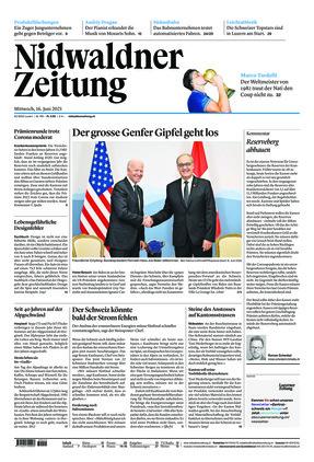 Nidwaldner Zeitung (16.06.2021)