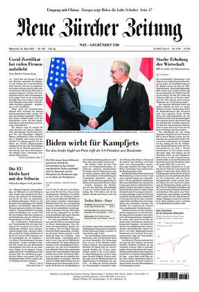 Neue Zürcher Zeitung (16.06.2021)