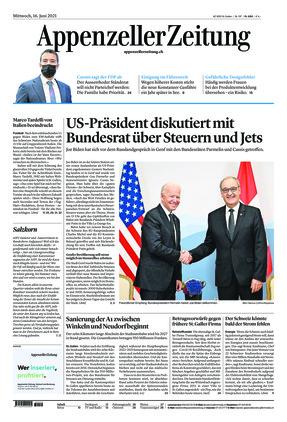 Appenzeller Zeitung (16.06.2021)