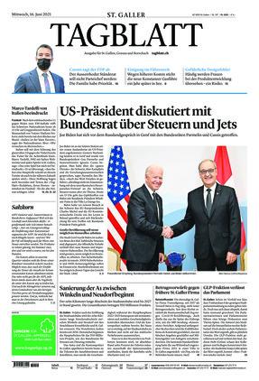 St. Galler Tagblatt (16.06.2021)
