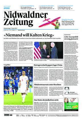 Nidwaldner Zeitung (17.06.2021)