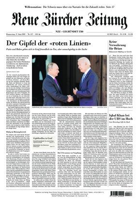 Neue Zürcher Zeitung (17.06.2021)