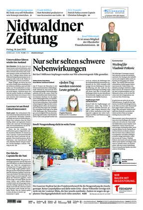 Nidwaldner Zeitung (18.06.2021)