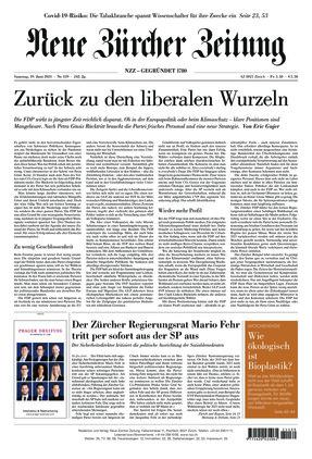 Neue Zürcher Zeitung (19.06.2021)