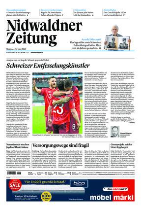 Nidwaldner Zeitung (21.06.2021)