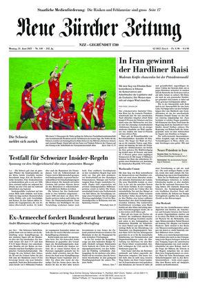 Neue Zürcher Zeitung (21.06.2021)