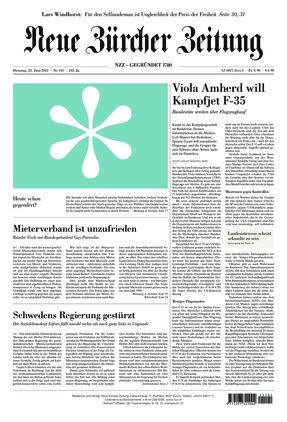 Neue Zürcher Zeitung (22.06.2021)