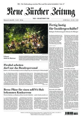 Neue Zürcher Zeitung (23.06.2021)