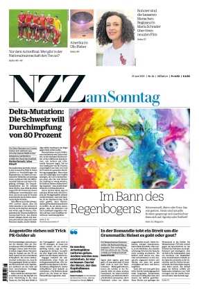 NZZ am Sonntag (27.06.2021)
