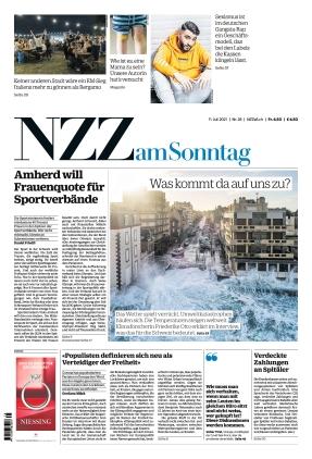 NZZ am Sonntag (11.07.2021)