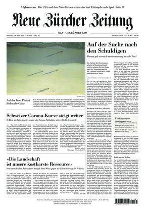 Neue Zürcher Zeitung (20.07.2021)