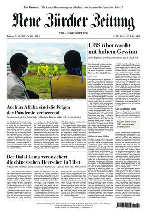 Neue Zürcher Zeitung (21.07.2021)