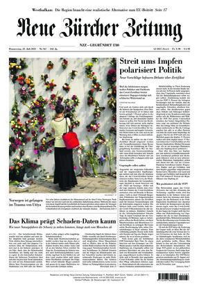 Neue Zürcher Zeitung (22.07.2021)