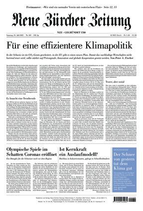 Neue Zürcher Zeitung (24.07.2021)