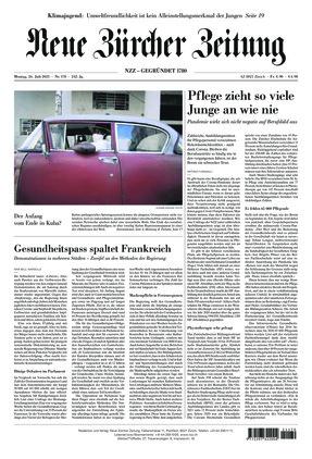 Neue Zürcher Zeitung (26.07.2021)