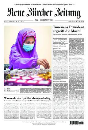 Neue Zürcher Zeitung (27.07.2021)