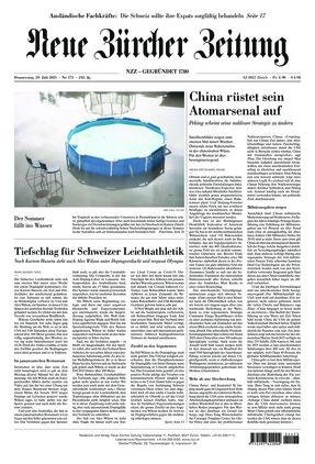 Neue Zürcher Zeitung (29.07.2021)