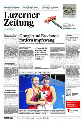Luzerner Zeitung (30.07.2021)