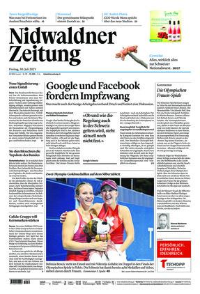 Nidwaldner Zeitung (30.07.2021)