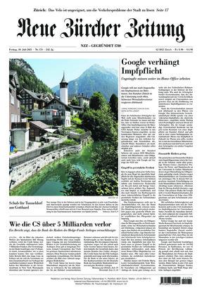 Neue Zürcher Zeitung (30.07.2021)