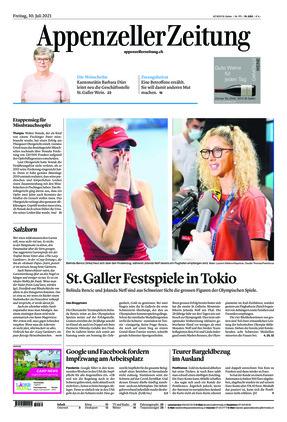 Appenzeller Zeitung (30.07.2021)