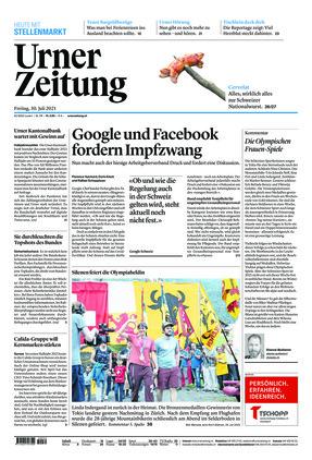 Urner Zeitung (30.07.2021)
