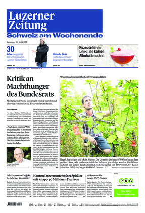Luzerner Zeitung (31.07.2021)