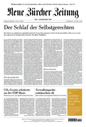 Neue Zürcher Zeitung (31.07.2021)