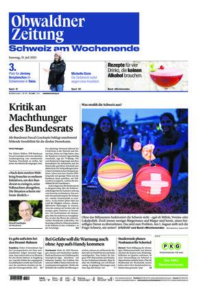 Obwaldner Zeitung (31.07.2021)