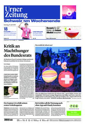 Urner Zeitung (31.07.2021)