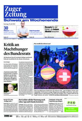 Zuger Zeitung (31.07.2021)