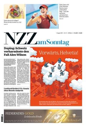 NZZ am Sonntag (01.08.2021)