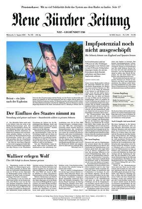 Neue Zürcher Zeitung (04.08.2021)