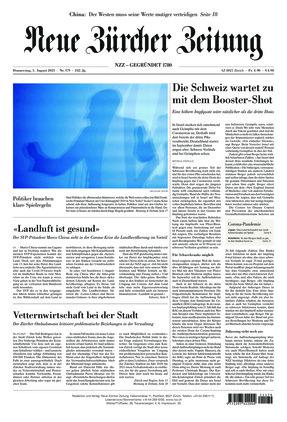 Neue Zürcher Zeitung (05.08.2021)