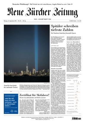 Neue Zürcher Zeitung (13.09.2021)